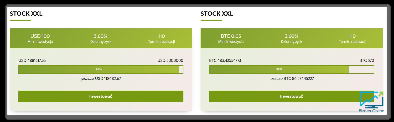 stock xxl